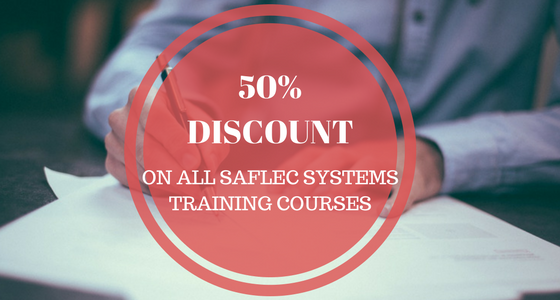 Saflec Systems offers 50% Discount on Training in May