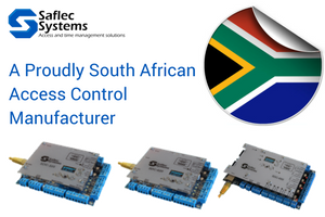 Saflec Systems Locally manufactured access security controllers