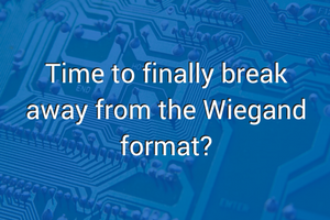 Time to finally break away from the Wiegand format?