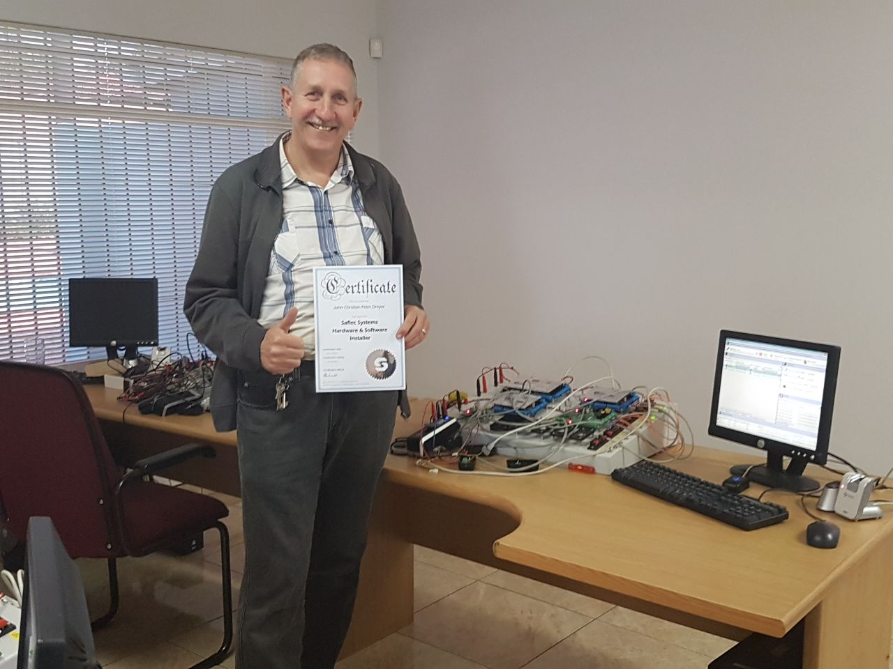 Peter Dreyer: Service Small Works Manager for SFP Security & Fire
