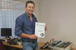 Saflec Systems Trainees Michael Booyse