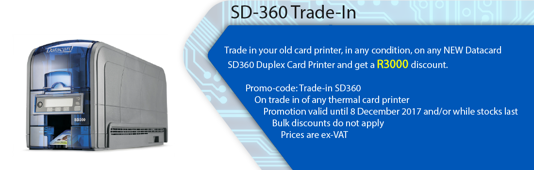 Saflec Systems SD360 Printer Trade-In Promotion