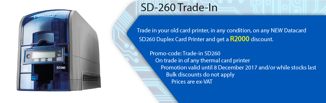 Saflec Systems SD-260 Trade-In Promotion