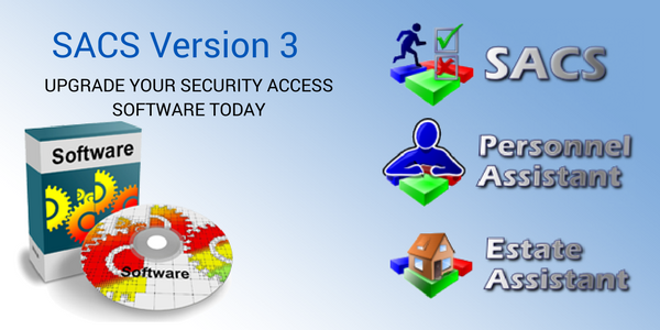 SACS Version 3 Released: New software for your security system