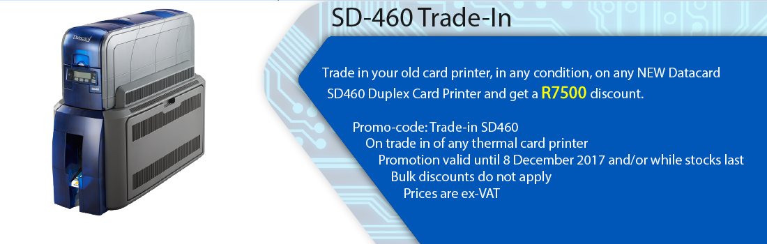 Saflec Systems SD-460 Trade-In Promotion