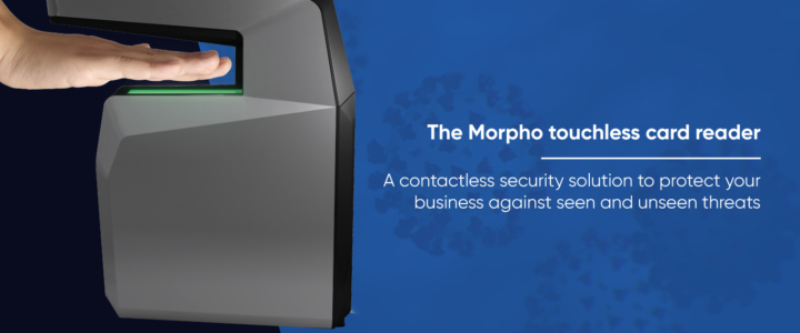 MorphoWave Compact by Idemia<br>– Frictionless access everywhere